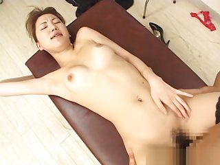 Asian doctor in amateur pov sex adventure with horny patient
