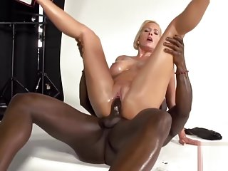 Blonde MILF vs BBC