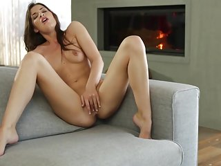 Ultra Alluring - Total Babe Plays with Her Pink