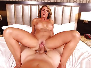 MomPov Melyssa - MILF Next Door Excited To Be On E463