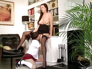 Mature brit stockings hoe licks