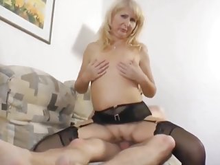 Skinny Nerd with Big Dick Fucks Naughty & Shameless MILF