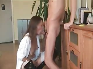 my mature German deep throat wife Silvia