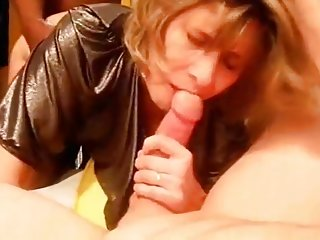 Compilation Lisa sucks Sparrow dick and swallows