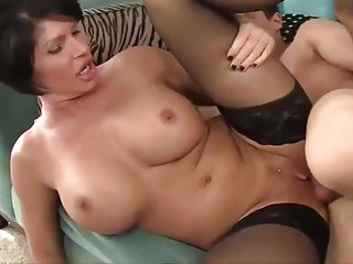 SEX WITH SON'_S FRIEND. MOM and SON