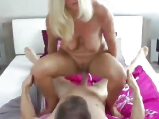 Naughty & Hot Mature MILF With Her Ex Husband Having Fun